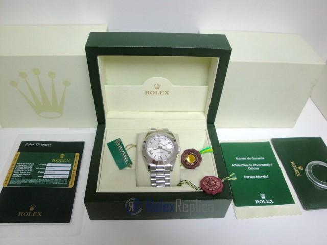 rolex replica daydate ll acciaio white dial president orologio replica copia imitazione