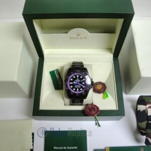 rolex replica deepsea seadweller pro-hunter pvd violet black out edition orologio replica