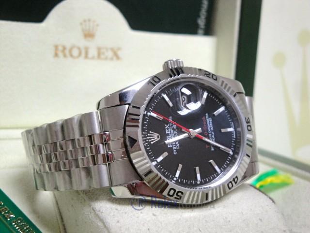 rolex replica turn-o-graph acciaio black dial orologio imitazione