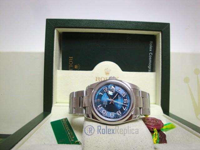 rolex replica datejust acciaio oyster blue dial orologio imitazione