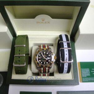 rolex replica GMT master II acciaio oro ceramica cordura by gucci orologio replica