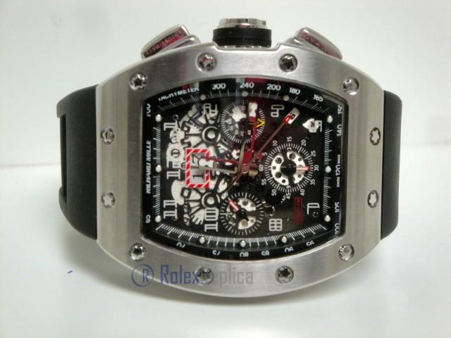 richard mille replica RM011 Felipe Massa titanium limited edition strip rubber-b