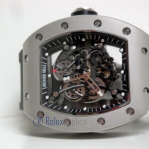 richard mille replica RM61-01 skeletron titanium limited edition strip rubber-b