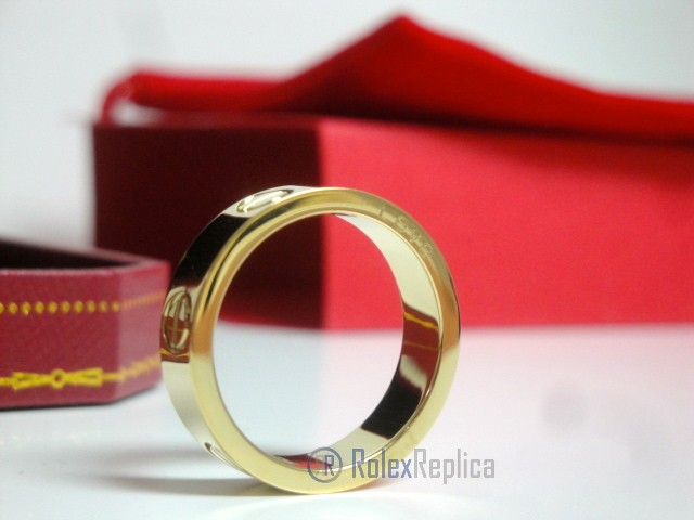 Cartier replica gioiello anello love yellow gold