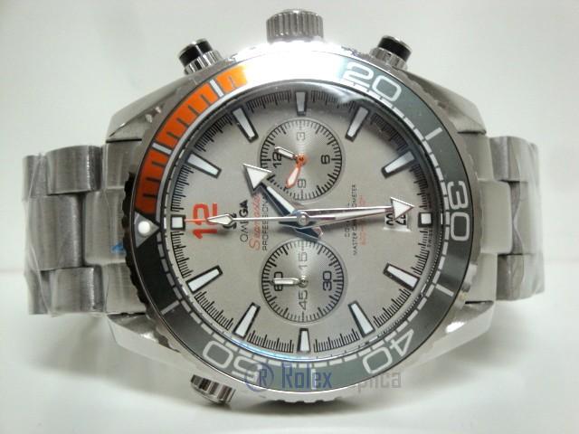 Omega replica seamaster co-axial planet ocean acciaio argentèè dial imitazione copia