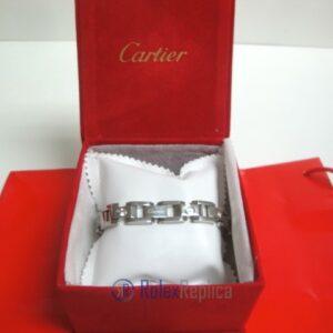 Cartier replica gioiello bracciale diamond oro bianco
