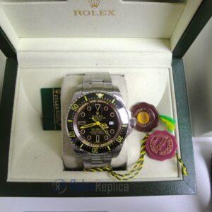 rolex replica deepsea seadweller acciaio black out yellow edition orologio replica