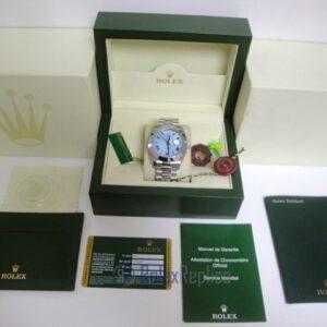 rolex replica daydate ll acciaio sky dial strip president orologio replica copia imitazione