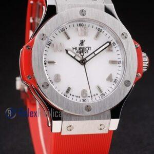 hublot replica big bang titanium white dial orange orologio copia