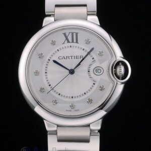 Cartier replica ballon bleu acciaio lady argentèè orologio imitazione perfetta
