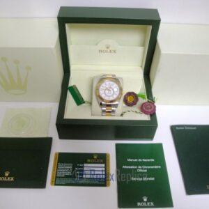 rolex replica sky-dweller acciaio-oro white dial orologio replica copia