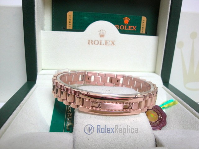 Rolex replica gioielli bracciale II president-style oro everose