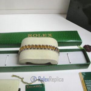 Rolex replica gioielli bracciale jubilèè strip oro giallo acciaio bi-colour