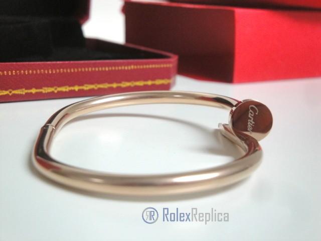 Cartier replica gioiello bracciale juste un clou rose gold