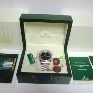 rolex replica daydate ll acciaio black dial president orologio replica copia imitazione