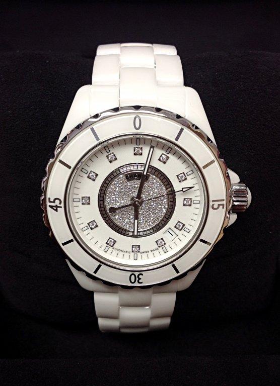 Chanel replica J12 H1759 White Ceramic Ladies orologio replica copia