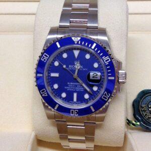 rolex replica submariner acciaio blue dial orologio replica copia imitazione