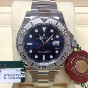 rolex replica yacht master I platinum blue dial new basilea orologio replica