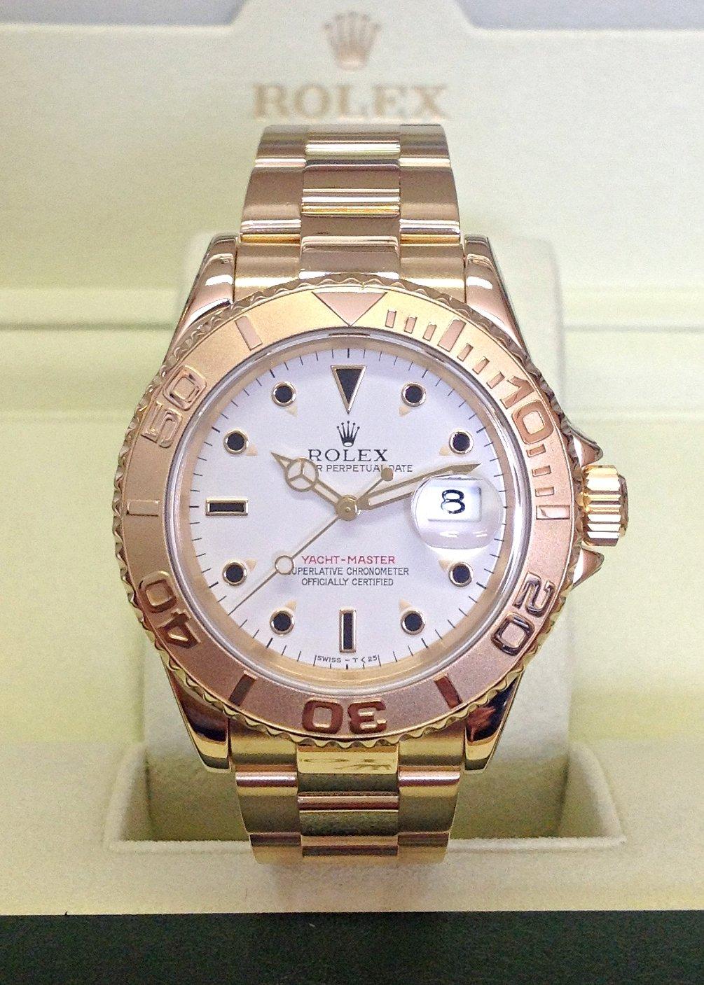 Rolex replica Yacht-Master 16628 40mm Yellow Gold orologio replica
