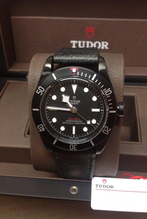 Tudor replica Heritage Black Bay Dark 79230DK