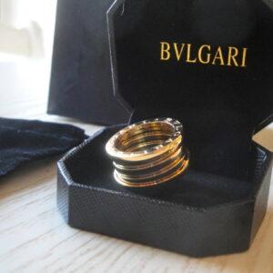 Bulgari replica B.Zero1 gioiello anello ciondolo oro giallo