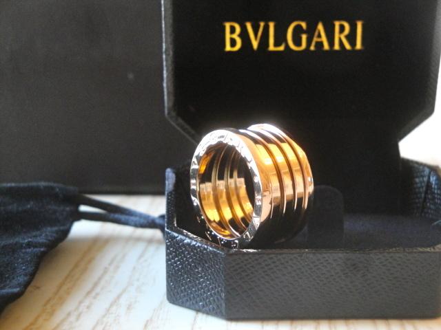 Bulgari replica B.Zero1 gioiello anello ciondolo oro rosa
