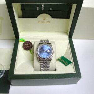rolex replica datejust acciaio blue barrette jubilèè orologio imitazione