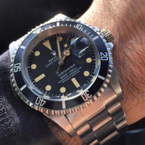 rolex replica submariner vintage 1680 black dial edition orologio replica copia imitazione